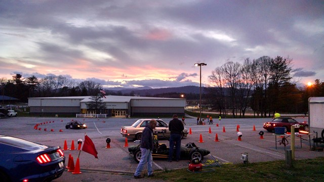 Autocross events in Asheville, NC